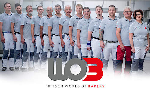 The FRITSCH World of Bakery Team