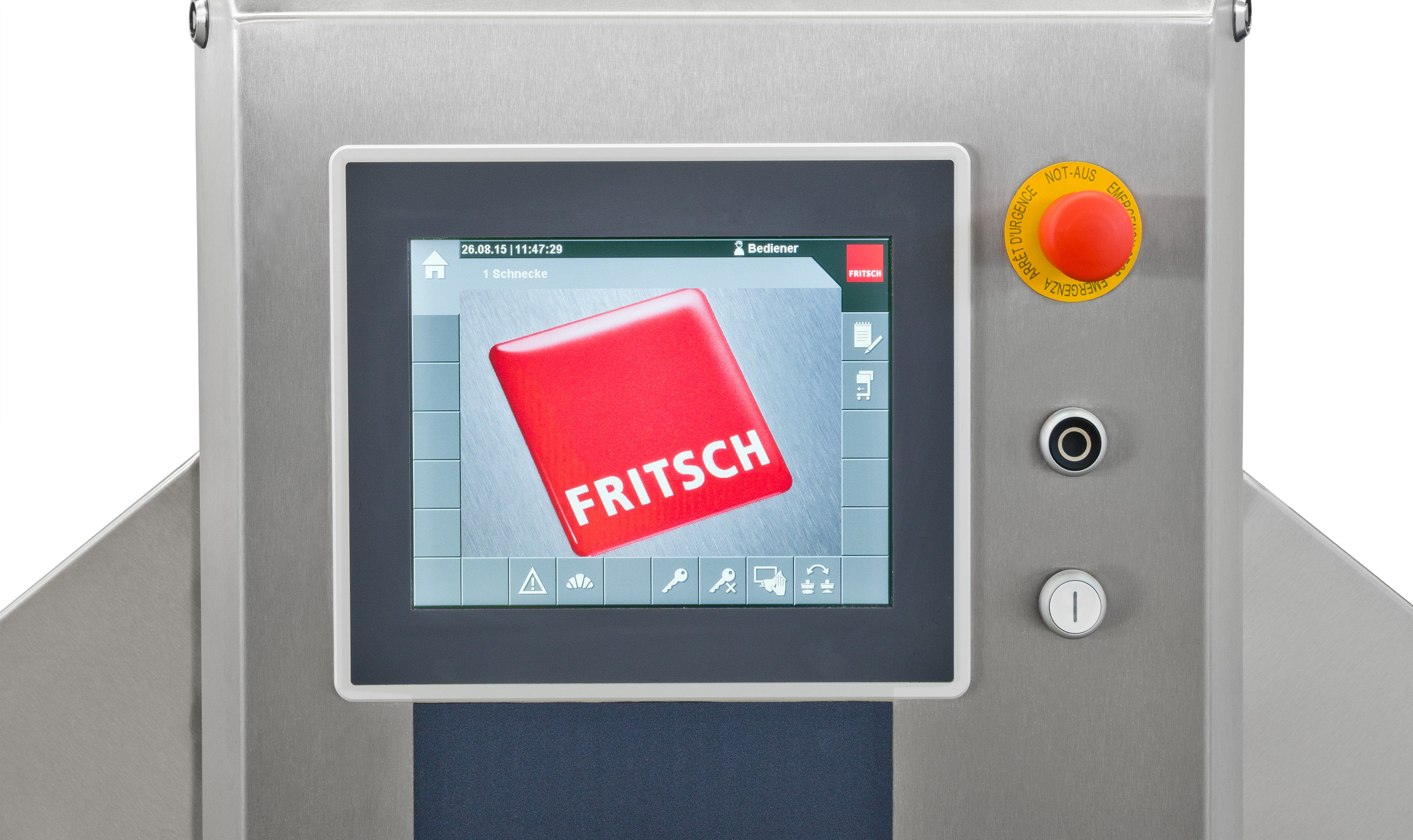 FRITSCH bakery machines pastries Easyline commande