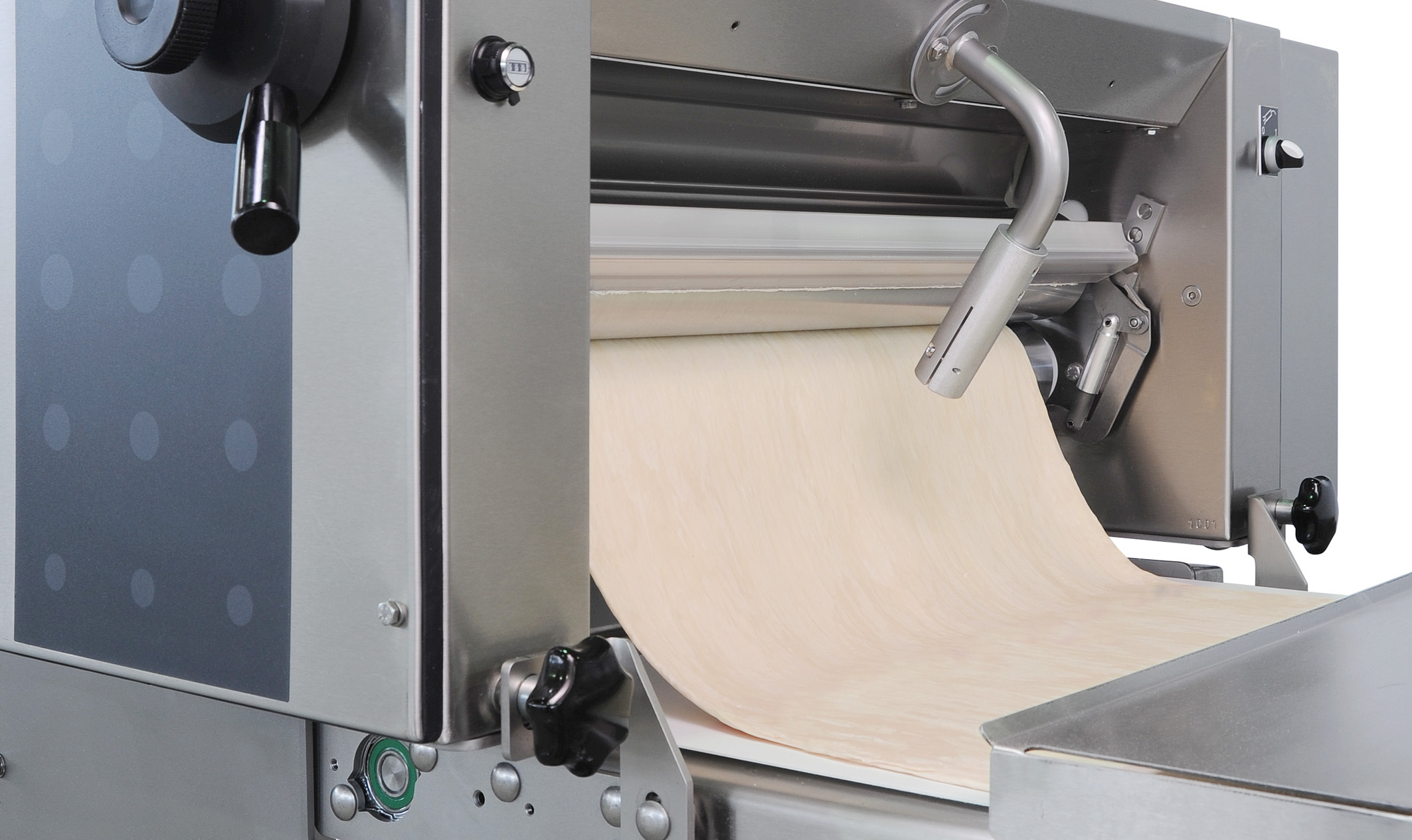 FRITSCH bakery machines pastries Easyline tête calibreuse